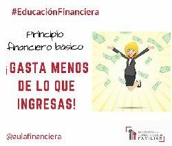 #EducaciónFinanciera 8